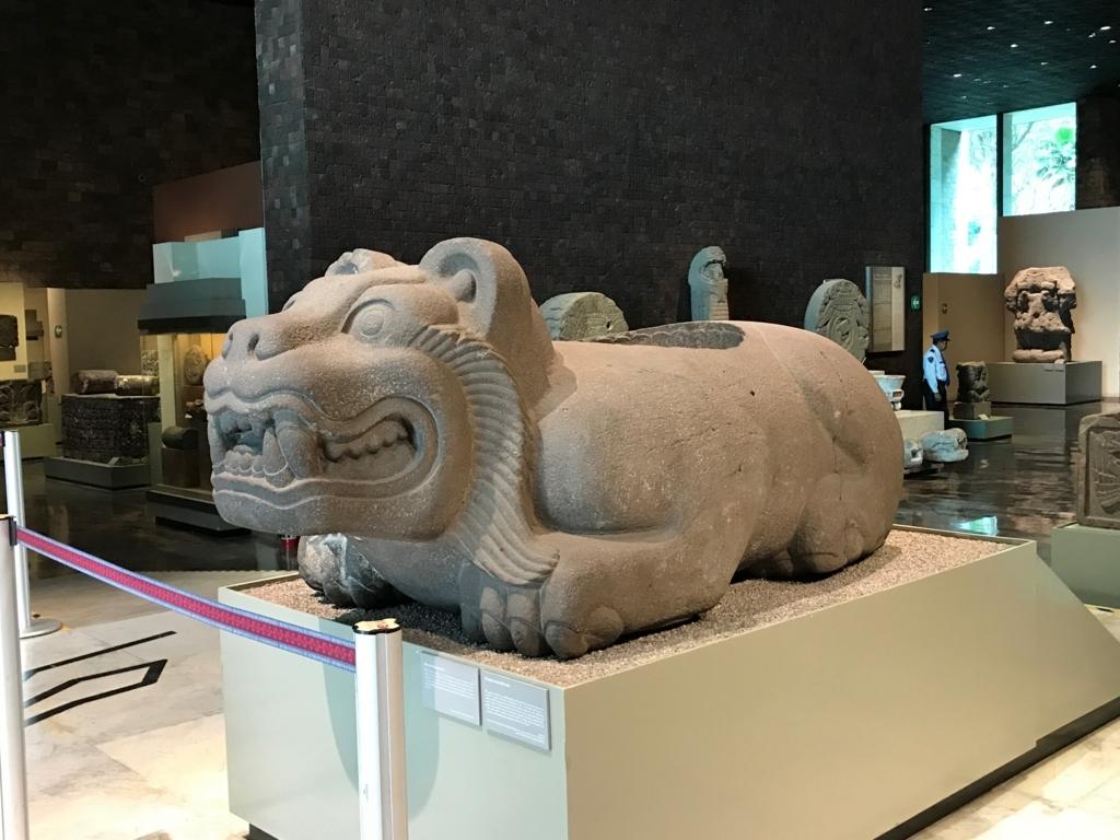 メキシコシティ 「国立人類学博物館 アステカ室」クアウシカリ