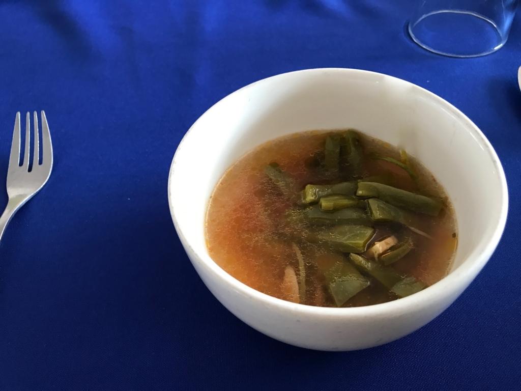 メキシコ 食用サボテンのスープ
