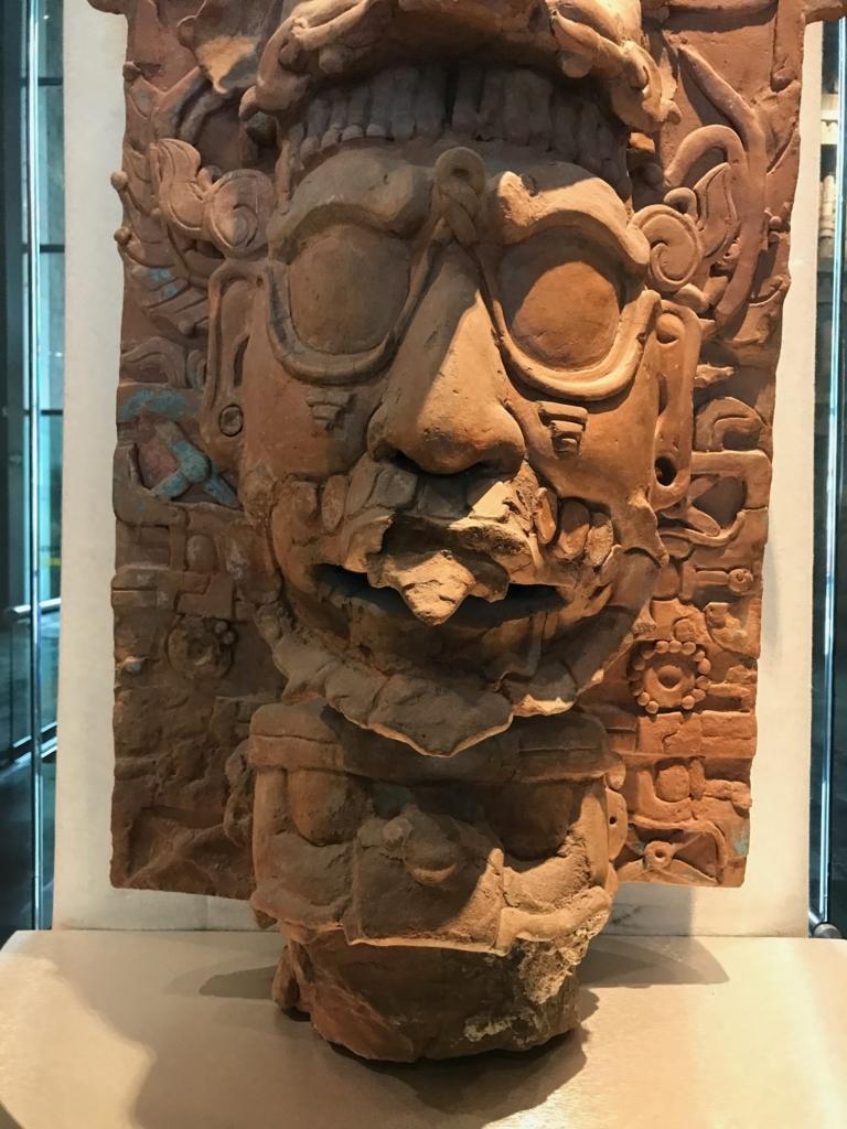 メキシコシティ「国立人類学博物館」パレンケ遺跡 香炉