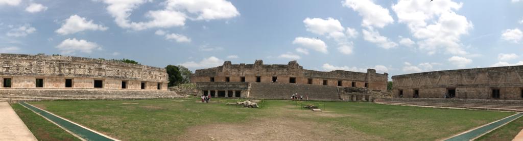 メキシコ ウシュマル遺跡 尼僧院