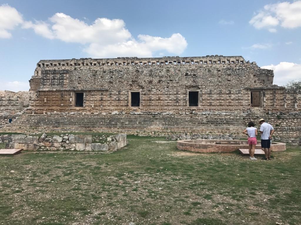 メキシコ カバー遺跡 「コズ・ポープ」