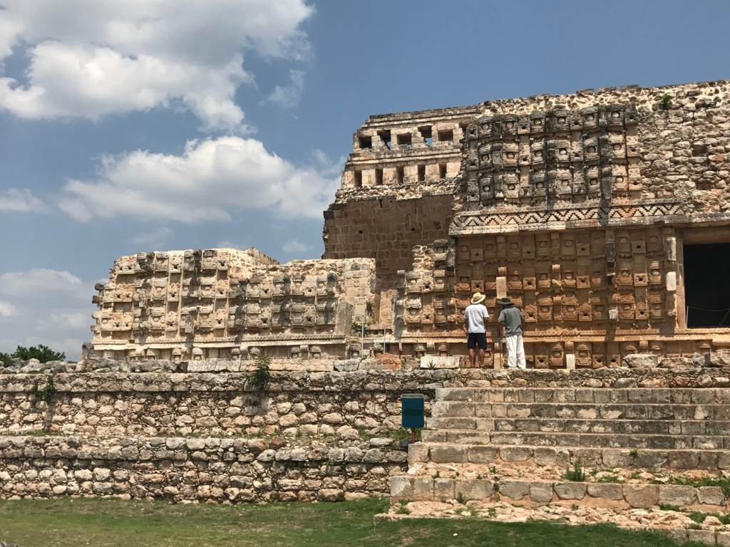 メキシコ カバー遺跡