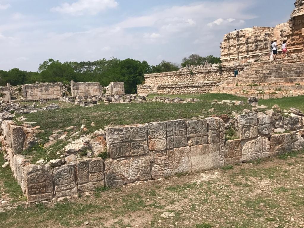 メキシコ カバー遺跡 「コズ・ポープ」矩形の祭壇
