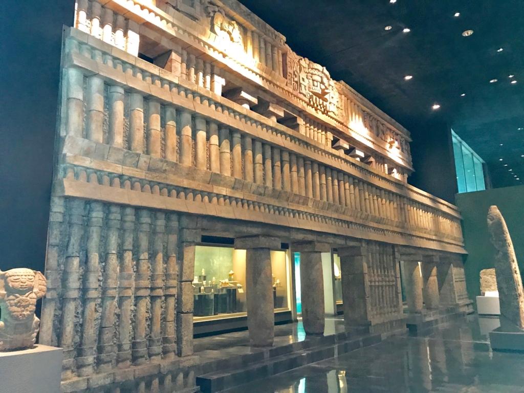 メキシコシティ「国立人類学博物館」マヤ室