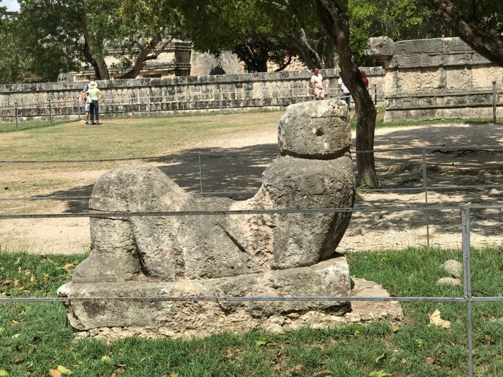 メキシコ チチェン・イッツァ遺跡 チャックモール