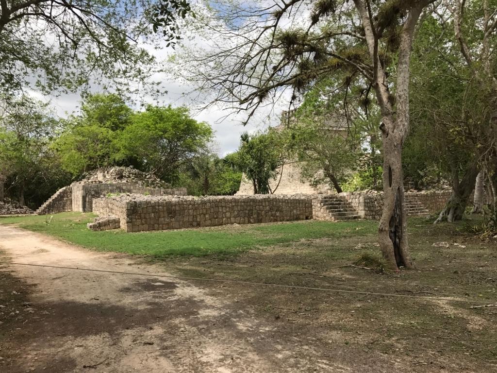 メキシコ チチェン・イッツァ遺跡 赤い家