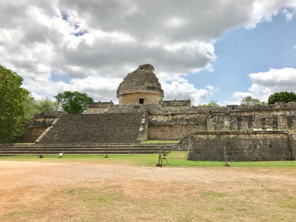 メキシコ チチェン・イッツァ遺跡 天文台