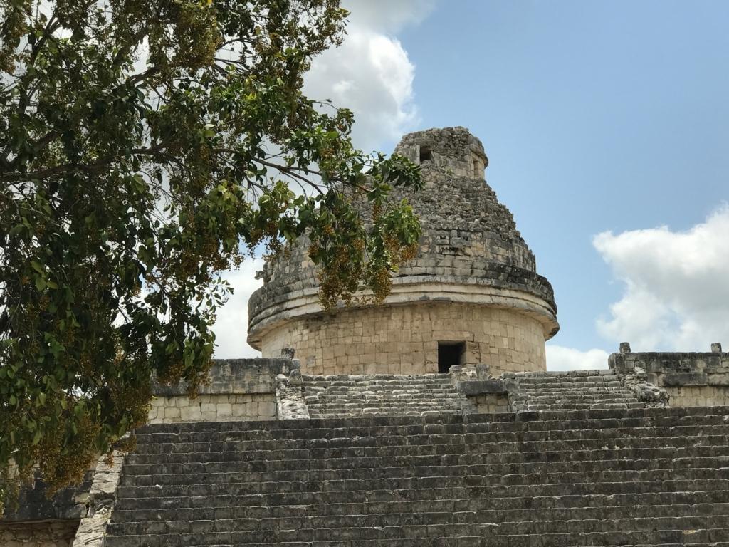 メキシコ チチェン・イッツァ遺跡 天文台 3つの窓
