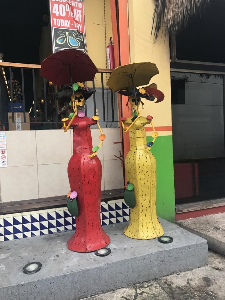 メキシコ カンクン CORAL HEGRD お土産街