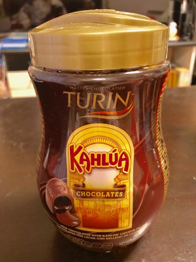 メキシコ カンクン PLAZA LA FLESTAで テキーラ入りチョコレート購入