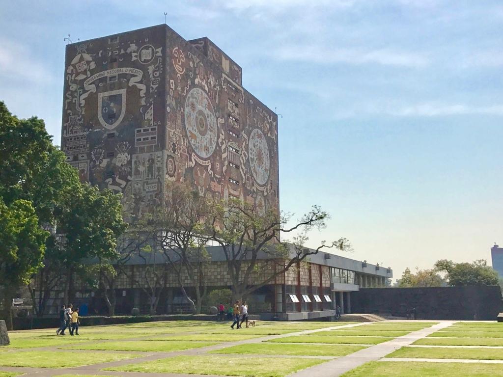 メキシコシティ 国立自治大学 図書館