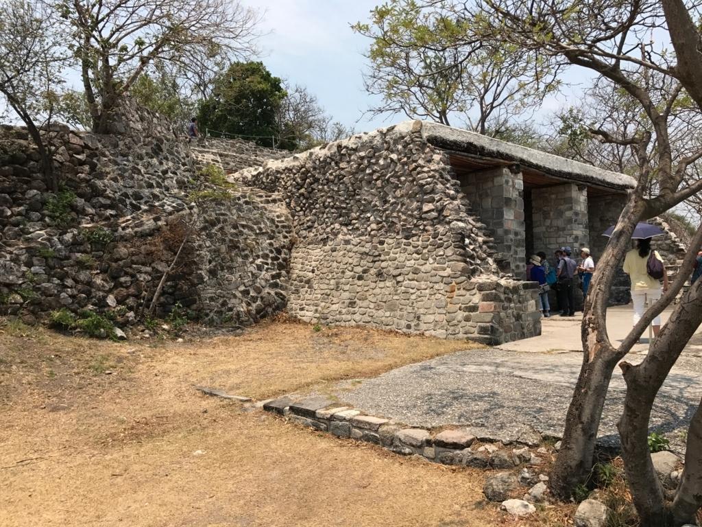 メキシコ ソチカルコ遺跡 彩色祭殿