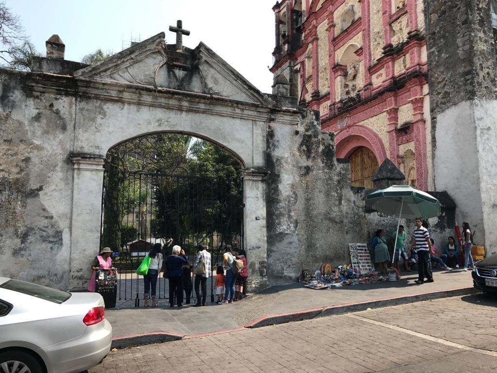 メキシコ クエルナバカ大聖堂 閉ざされた入り口