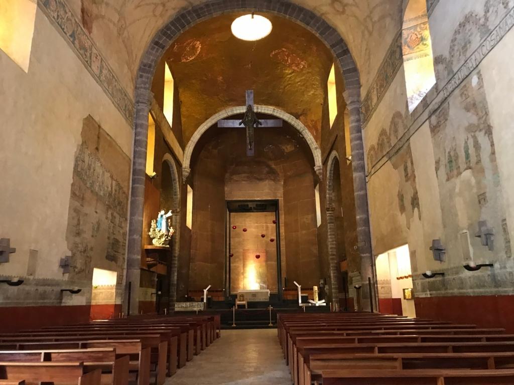 メキシコ クエルナバカ大聖堂 内部
