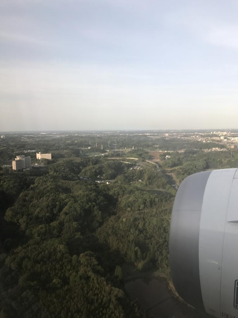 メキシコシティ-成田 ANA0179便 成田到着