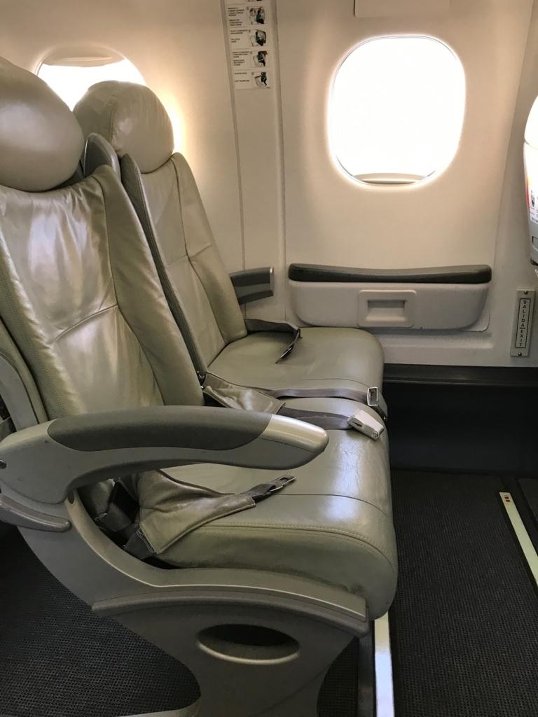 アエロメキシコAM420便  非常口座席