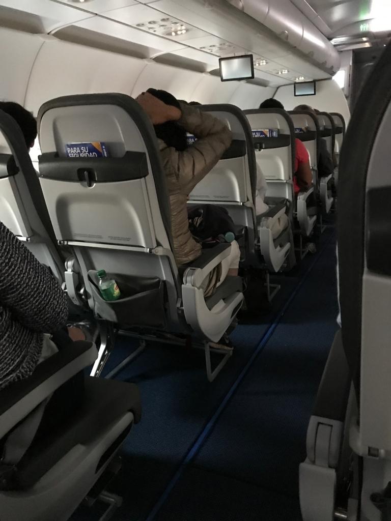 LCCのインテルジェット航空 座席