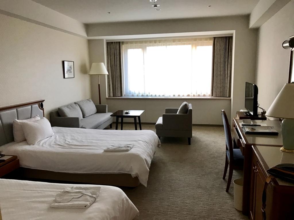 北海道函館 函館国際ホテル ツイン