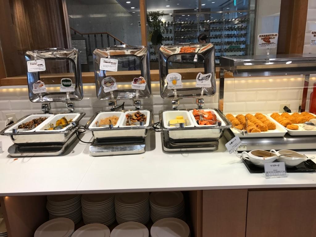 北海道函館 函館国際ホテル 朝食ビュッフェ