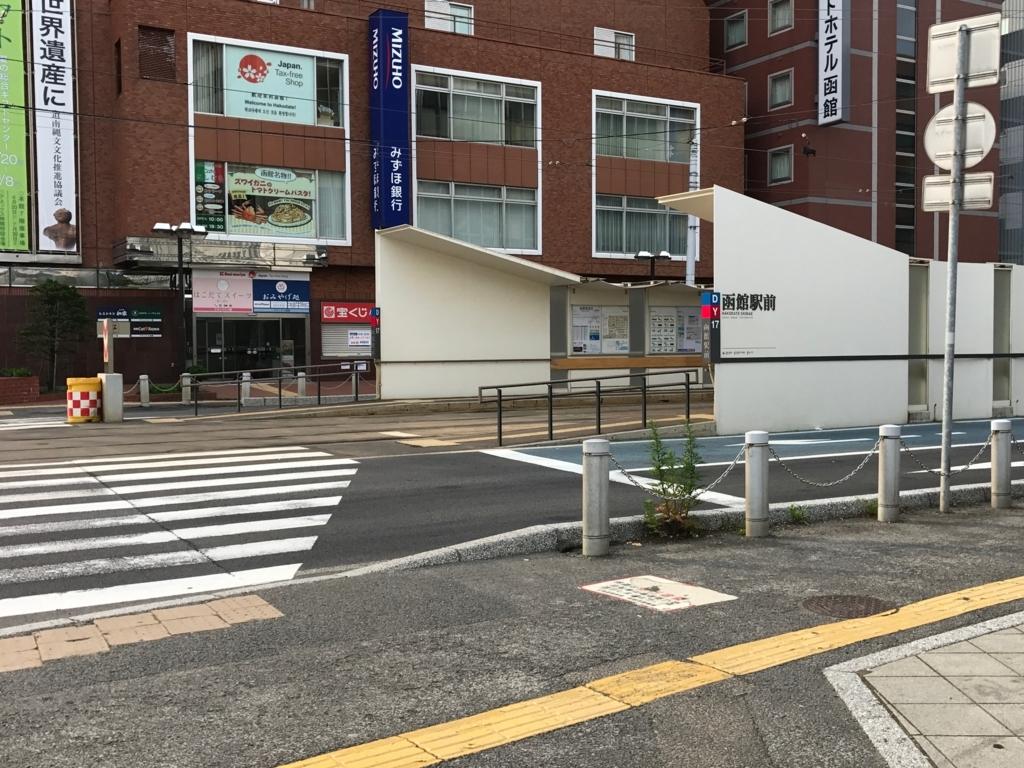 函館市電 「函館駅前」