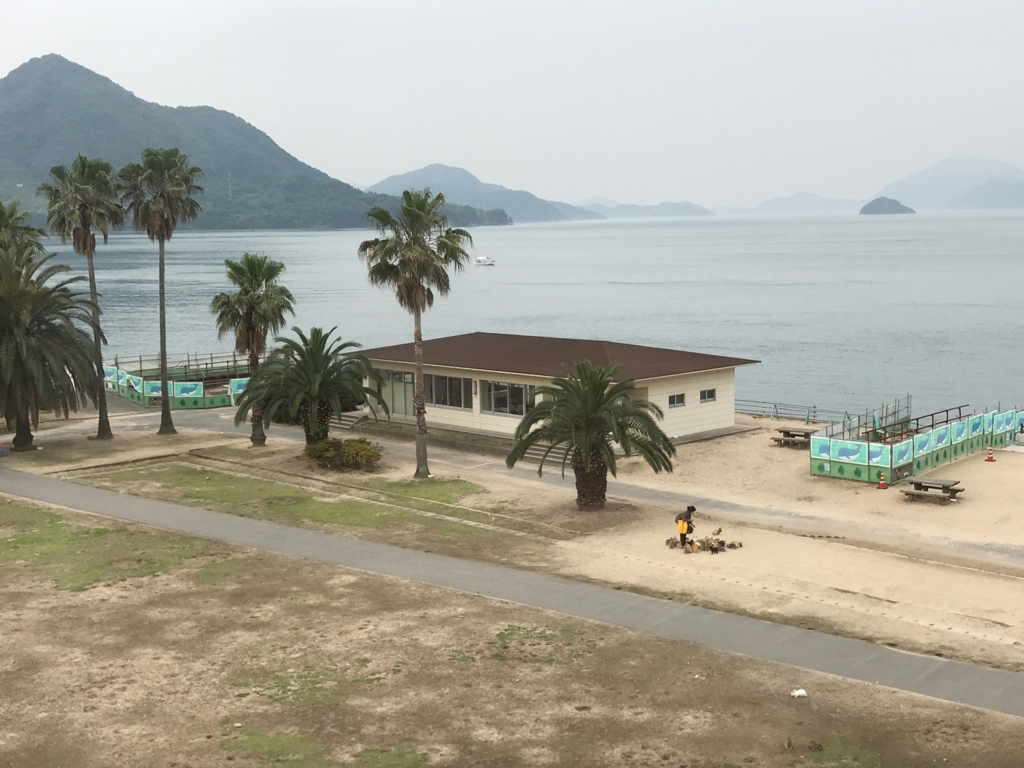 2017年6月 広島県 うさぎ島(大久野島) 休暇村