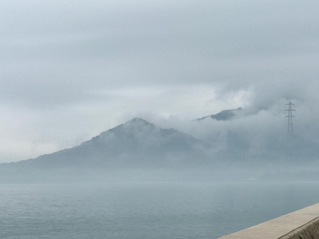 2017年6月 広島県 うさぎ島(大久野島) モヤ