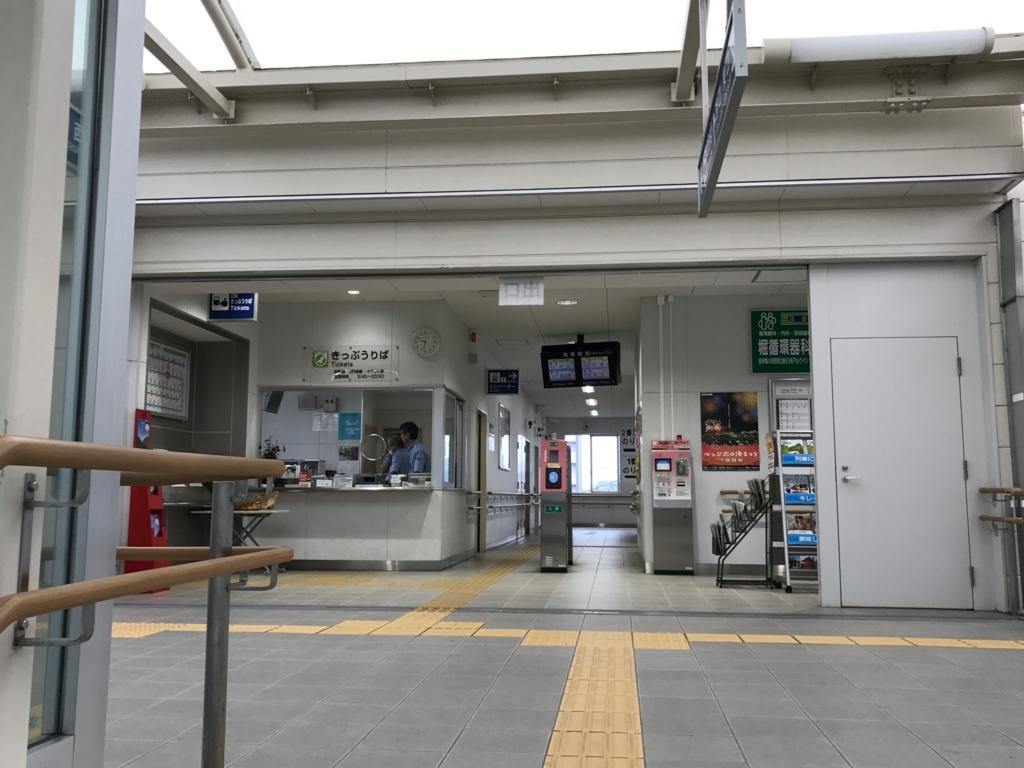 別府温泉「地獄めぐり」豊本線 亀川駅 改札
