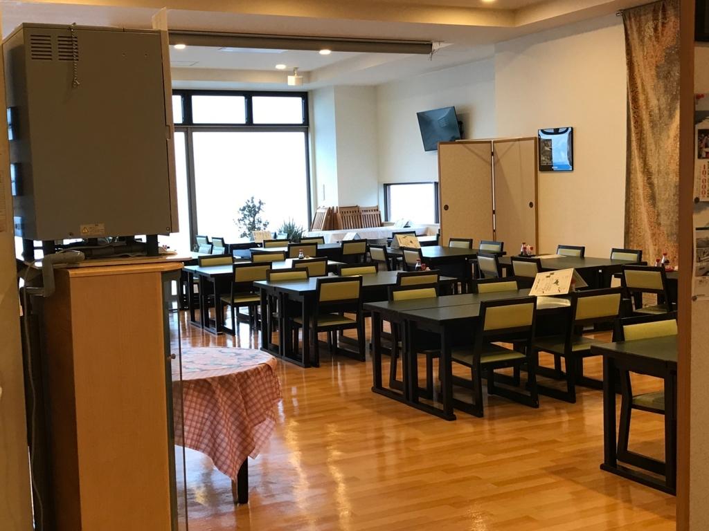 北海道 羅臼 「羅臼の宿 まるみ」レストラン