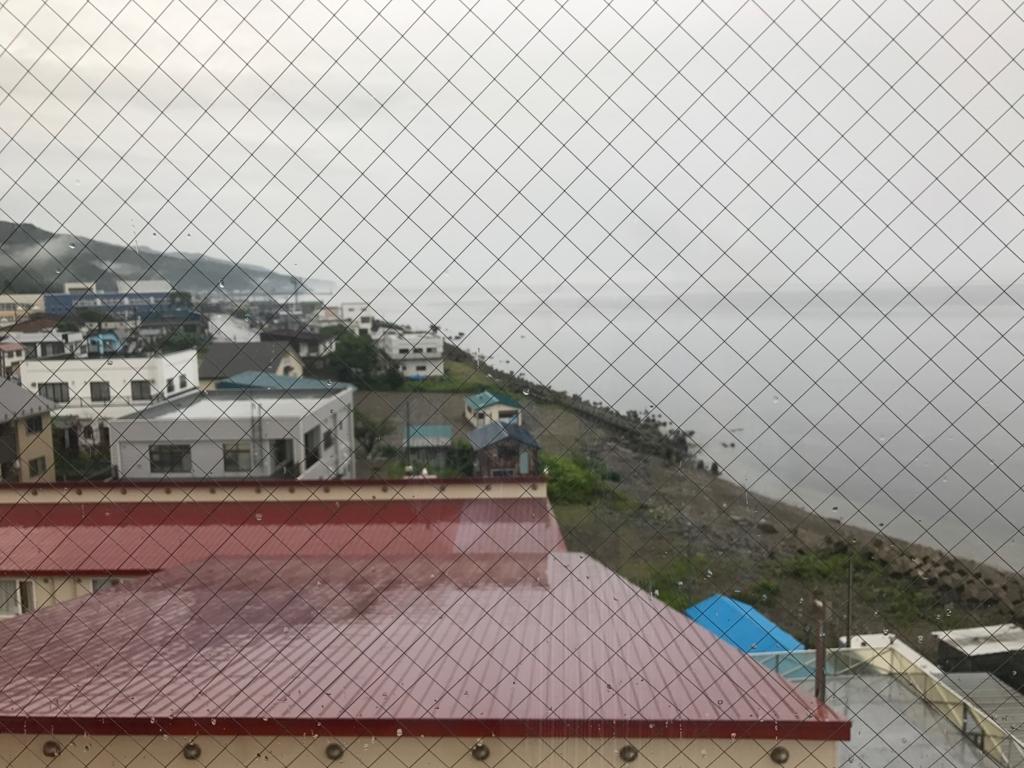 北海道 羅臼 「羅臼の宿 まるみ」部屋からは海