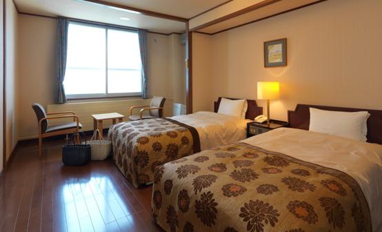 北海道「知床グランドホテル北こぶし」部屋 ツイン bywww.shiretoko.co.jp