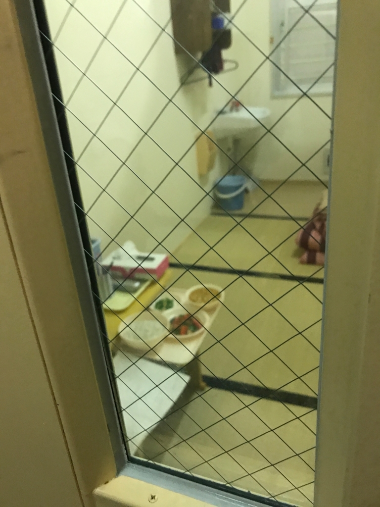 北海道 網走「博物館 網走監獄」監獄歴史館 現在の刑務所の独居房