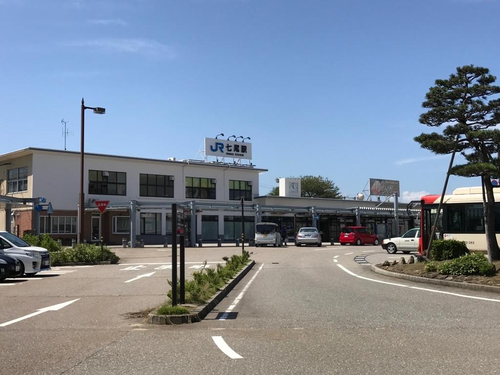 七尾駅 周辺