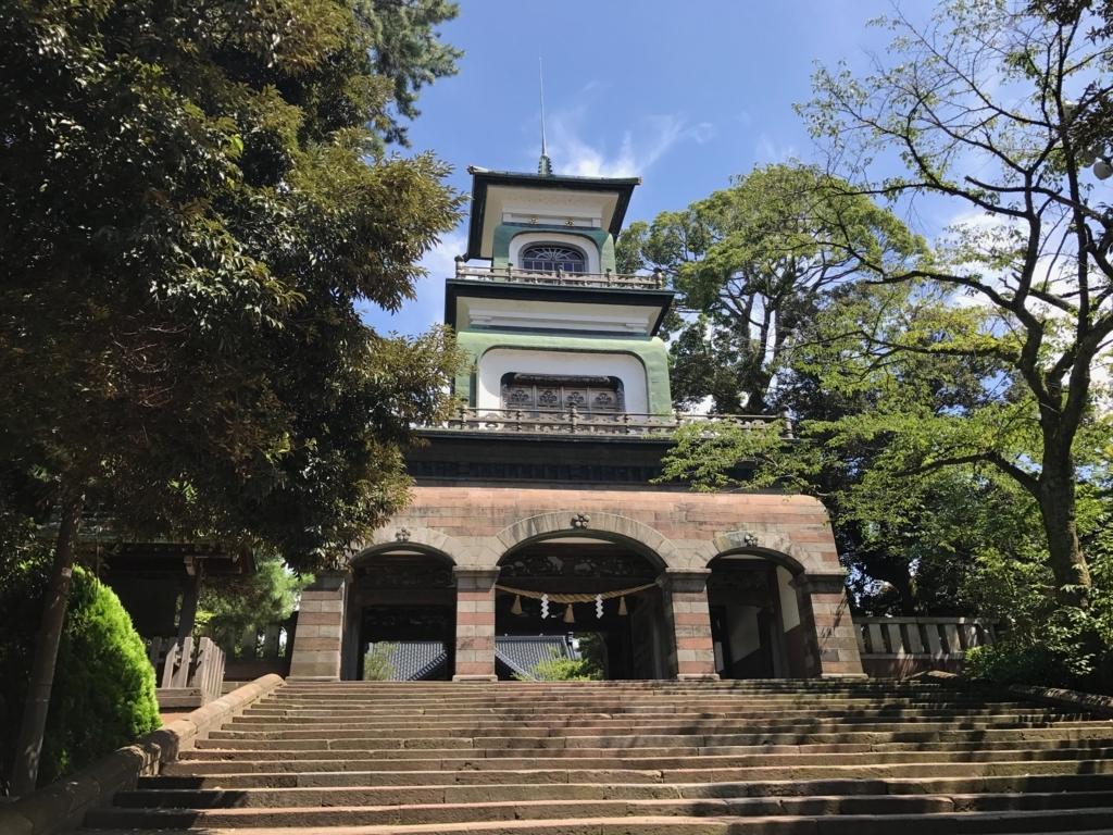 金沢「尾山神社」 神門