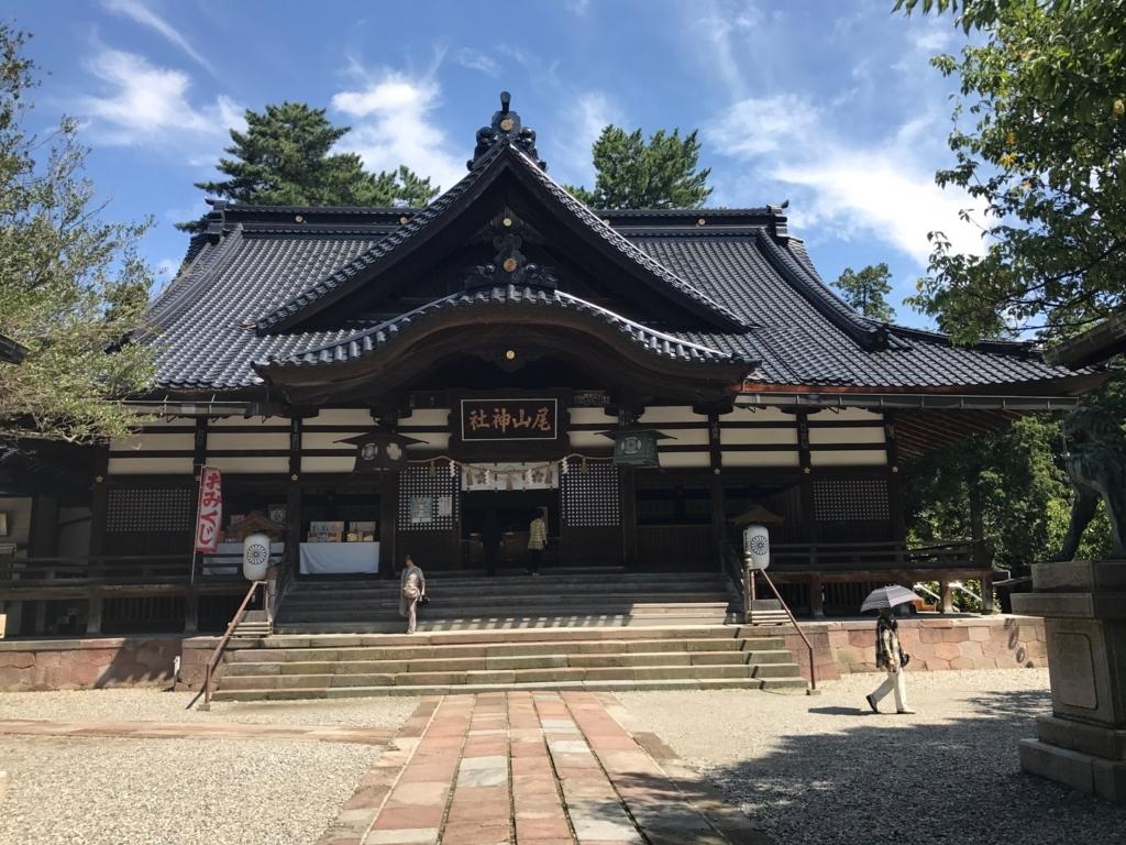 金沢「尾山神社」 本殿