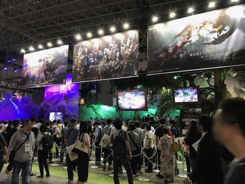 東京ゲームショウ2017 CAPCOM BOOTH