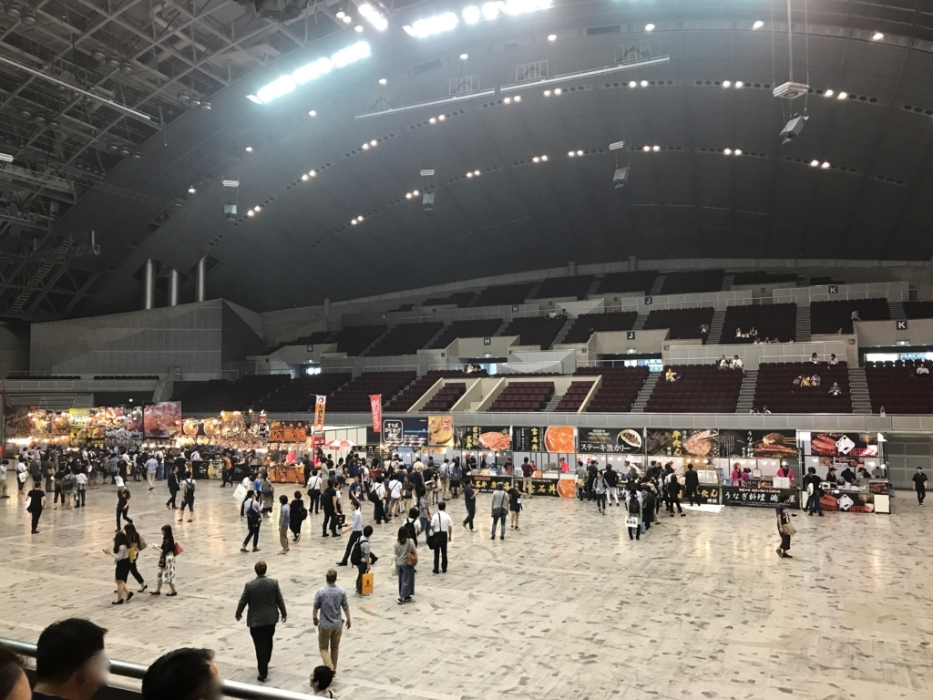 東京ゲームショウ2017 Event Hall フードコート