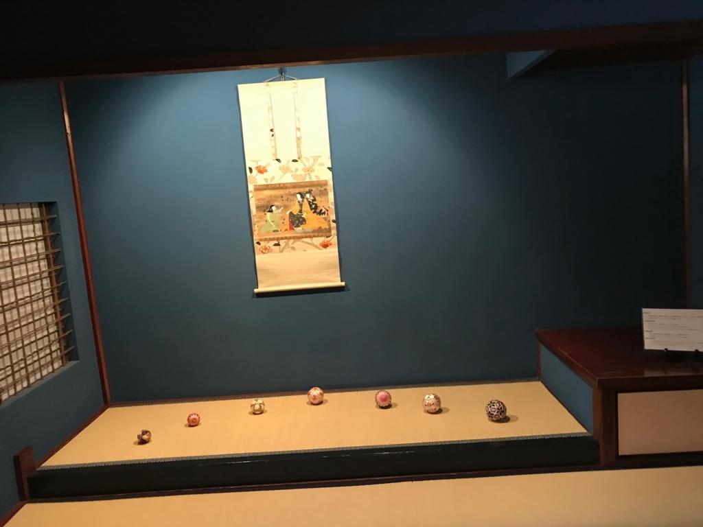 金沢 ひがし茶屋街 「懐華楼」 2階 「貴賓室 群青の間」