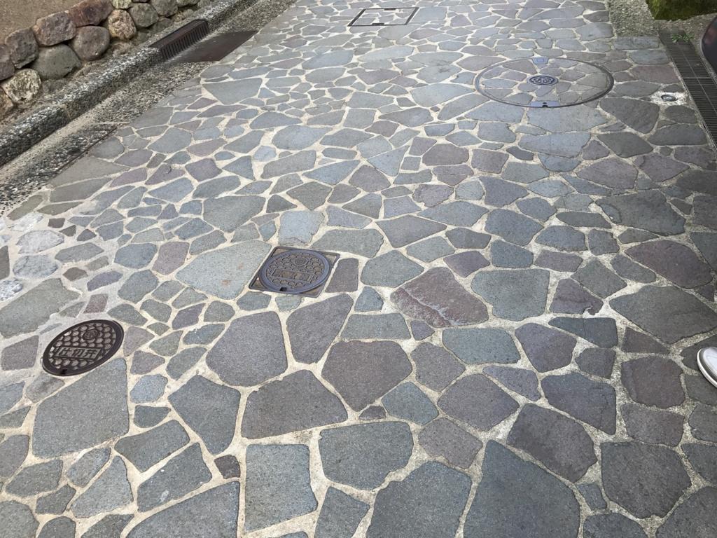 金沢 長町武家屋敷街跡 石畳の道 拡大