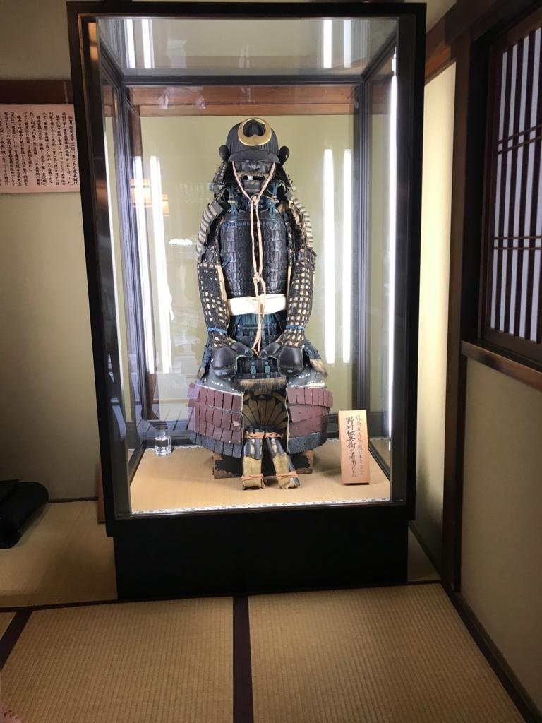 金沢 長町武家屋敷街跡 加賀藩千二百石 「野村家屋敷跡」 展示物