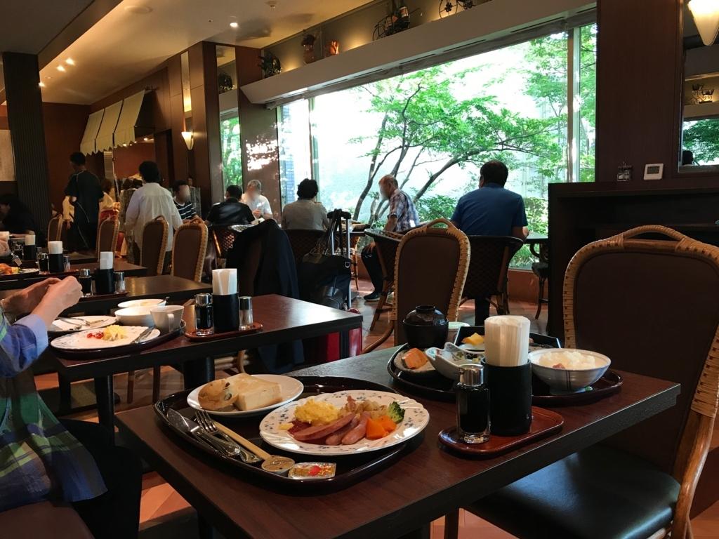 金沢マンテンホテル駅前 朝食会場 1階の「万咲」