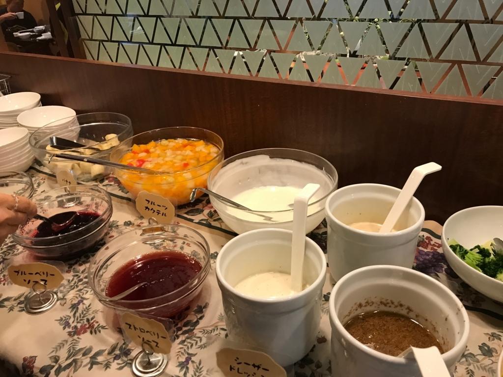 金沢マンテンホテル駅前 朝食 サラダバー