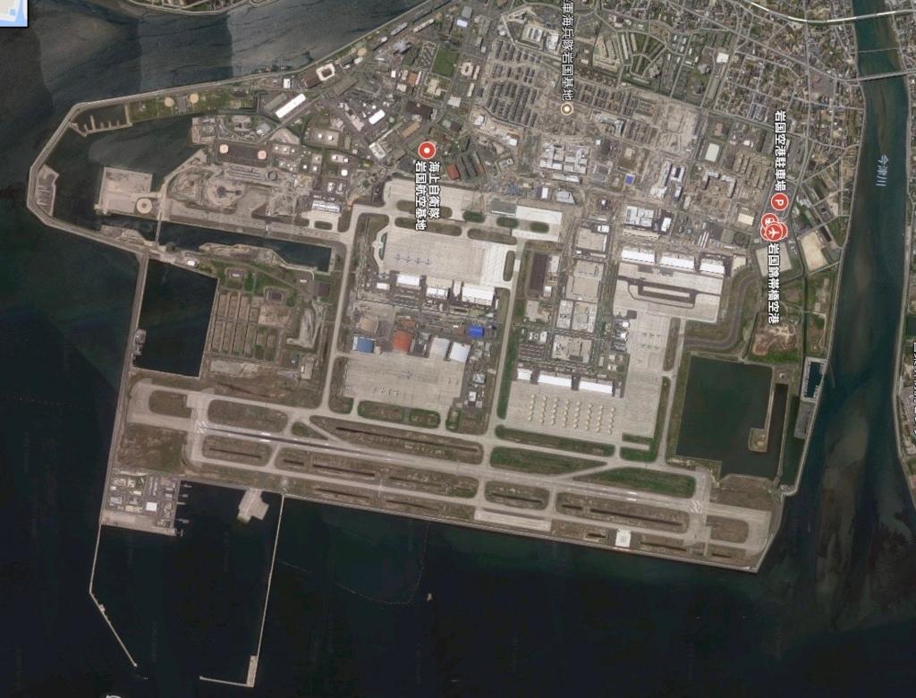 岩国勤怠空港 google地図