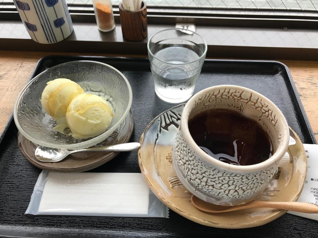 山口県 錦帯橋バスターミナル(橋の駅) 2階 食事処 柚子アイス
