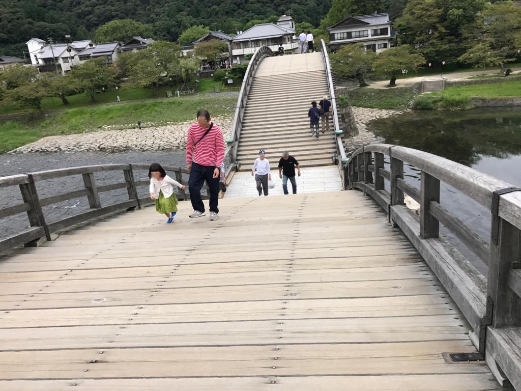山口県 岩国「錦帯橋」五連の反り橋