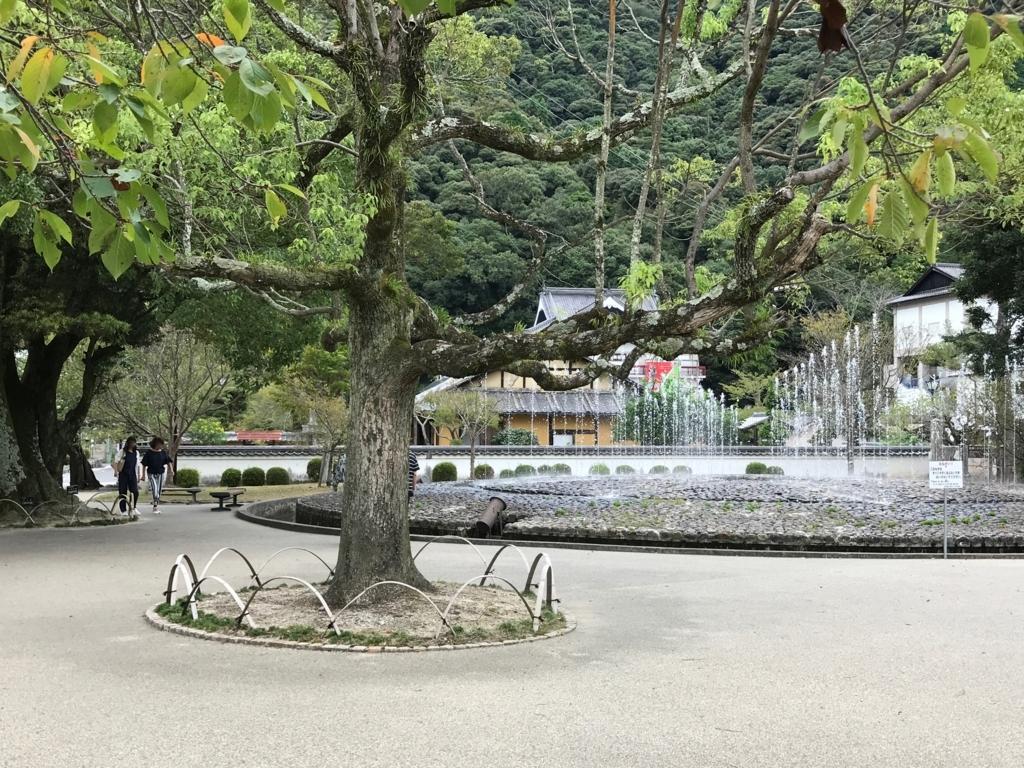山口県 岩国 「吉香公園」他にも大きい噴水