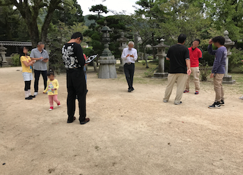 山口県 岩国 「吉香公園」吉香神社 ポケモンGO スイクン出現中