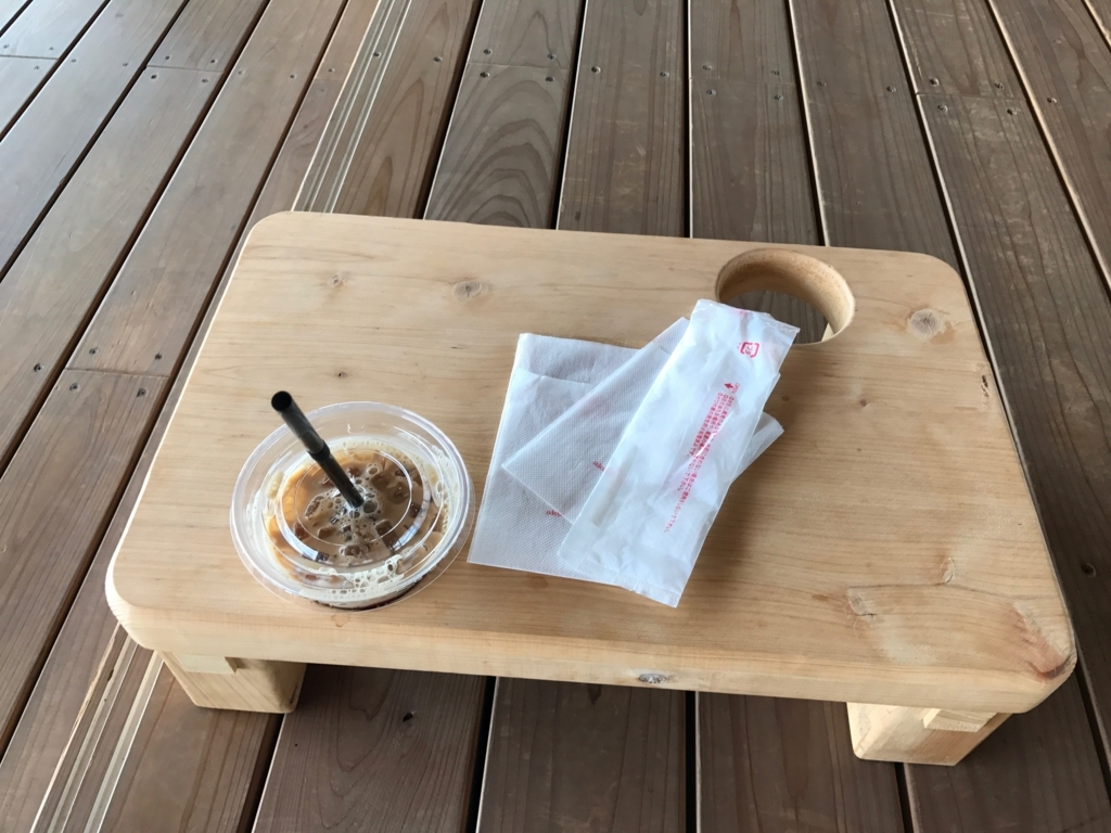 広島県 「おりづるタワー」屋上 「ひろしまの丘」 テーブル