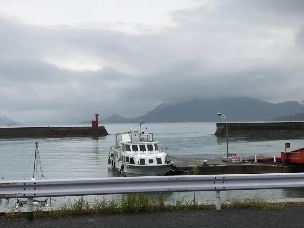 広島県 忠海港 うさぎ島(大久野島)へ客船