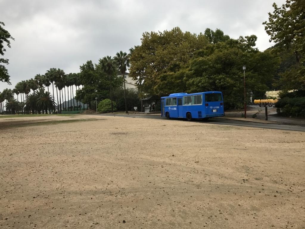 広島県 忠海港 うさぎ島(大久野島) 休暇村へバスで
