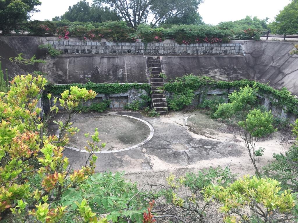広島県 うさぎ島(大久野島)中部砲台跡